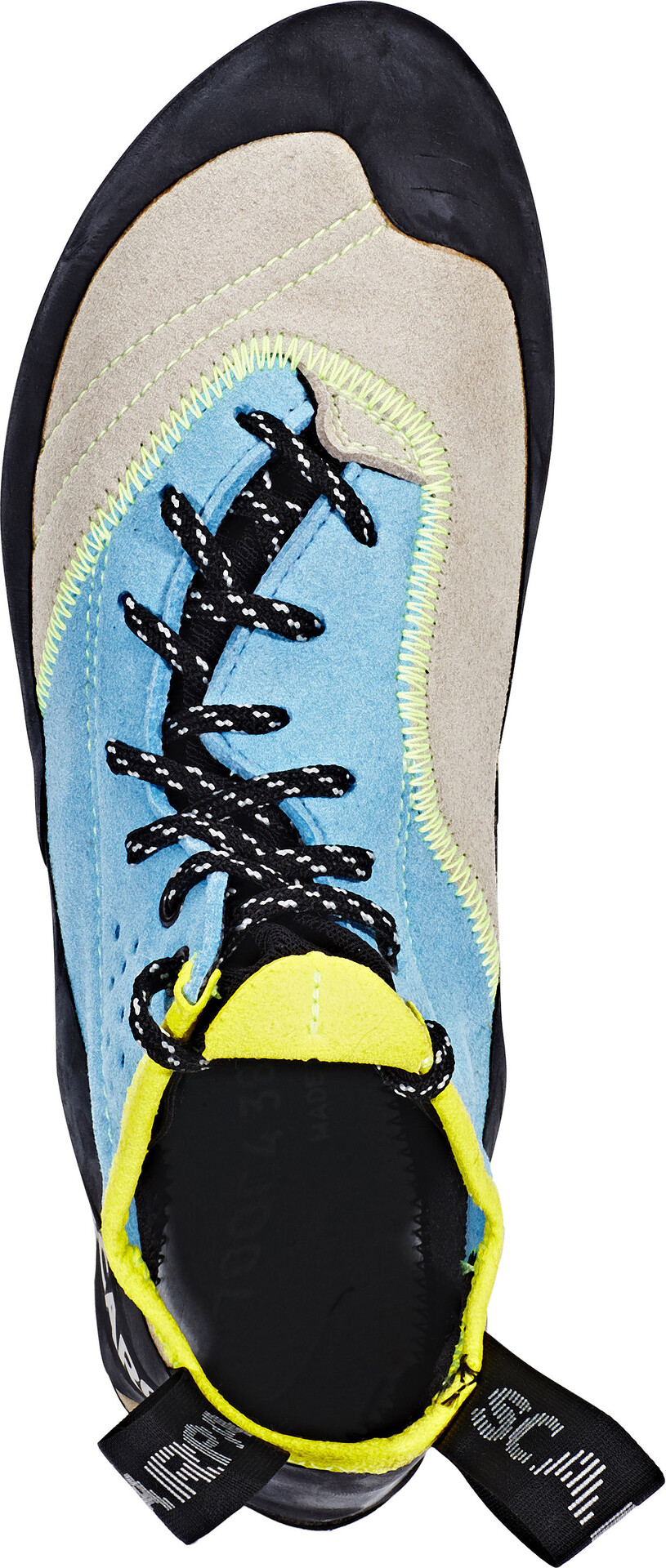 Scarpa Velocity L WMN Scarpe da arrampicata Donna, light gray/truquoise su Addnature 5fvIl